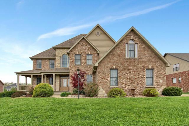 3907 Stone Hollow Lane, Edwardsville, IL 62025 (#18010001) :: Sue Martin Team