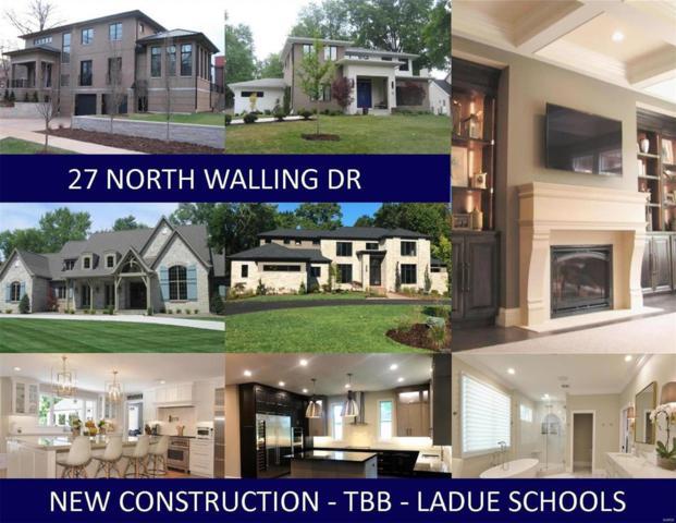 27 N Walling Drive, Creve Coeur, MO 63141 (#18013322) :: Clarity Street Realty