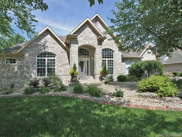 47 Birdie Court, Edwardsville, IL 62025 (#18014582) :: Sue Martin Team