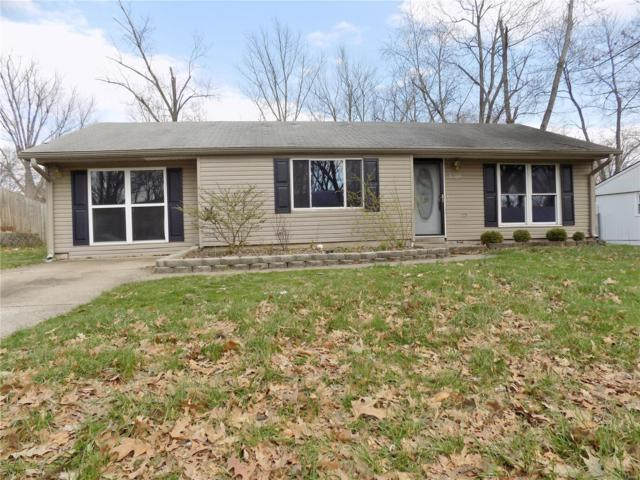 5209 Pine Ridge, Godfrey, IL 62035 (#18017986) :: Fusion Realty, LLC