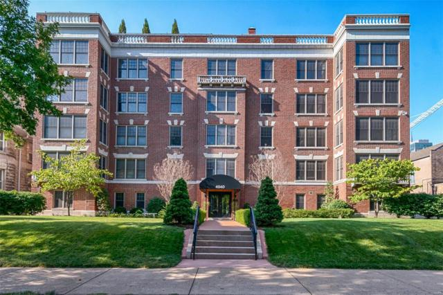 4540 Lindell Boulevard #401, St Louis, MO 63108 (#18025338) :: St. Louis Finest Homes Realty Group