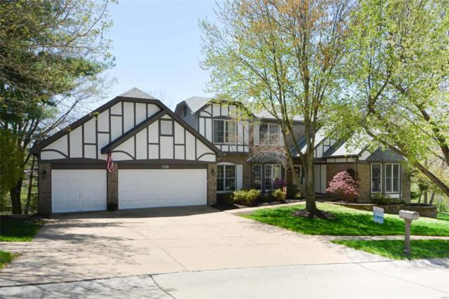 338 Turnberry Place, Wildwood, MO 63011 (#18033217) :: Sue Martin Team
