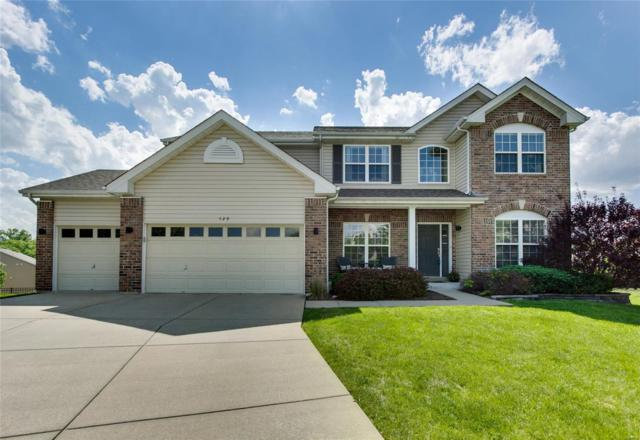 529 Wyndgate Lake Court, Lake St Louis, MO 63367 (#18036279) :: Kelly Hager Group | Keller Williams Realty Chesterfield