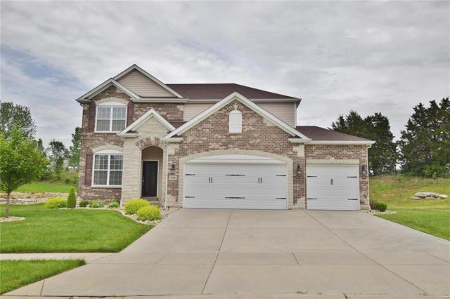 105 Wilmer Valley Drive, Wentzville, MO 63385 (#18038572) :: Barrett Realty Group