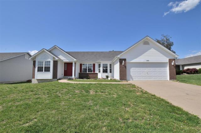 153 Brookshire Creek Drive, Wentzville, MO 63385 (#18057225) :: Kelly Hager Group | TdD Premier Real Estate