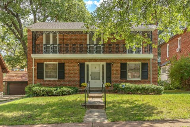 718 Pennsylvania Avenue, St Louis, MO 63130 (#18072586) :: Clarity Street Realty