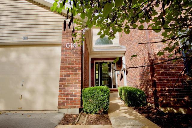 614 Pine Ridge Trails #202, Ballwin, MO 63021 (#18082477) :: The Becky O'Neill Power Home Selling Team