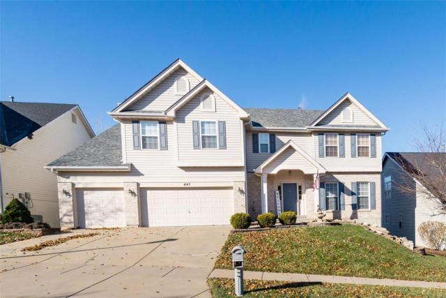 447 Meramec View Drive, Eureka, MO 63025 (#18091873) :: The Becky O'Neill Power Home Selling Team