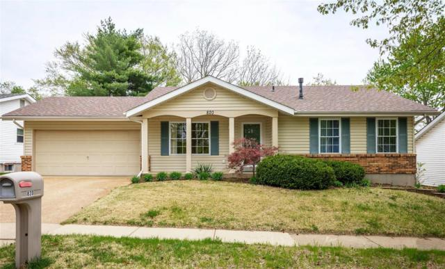 820 Timberfield Drive, Ballwin, MO 63021 (#19028174) :: The Becky O'Neill Power Home Selling Team