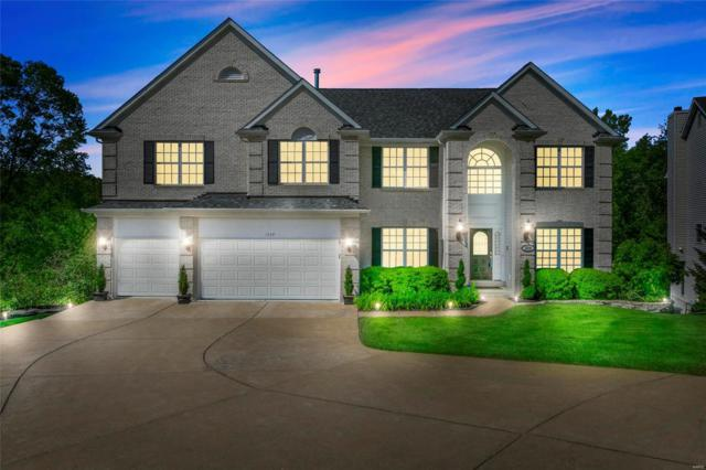 1539 Dietrich Glen Drive, Ballwin, MO 63021 (#19035945) :: The Kathy Helbig Group