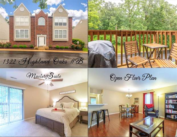 1322 Highland Oaks Drive B, Ballwin, MO 63021 (#19053315) :: Kelly Hager Group | TdD Premier Real Estate