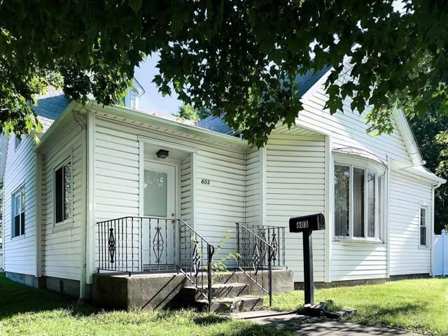 603 E Main Street, STAUNTON, IL 62088 (#19057350) :: The Becky O'Neill Power Home Selling Team
