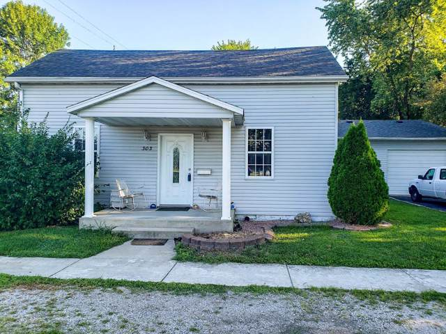 303 E 6th Street, STAUNTON, IL 62088 (#19057509) :: The Becky O'Neill Power Home Selling Team
