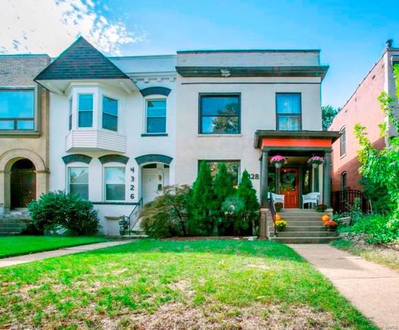 4328 Laclede Avenue, St Louis, MO 63108 (#19067378) :: Hartmann Realtors Inc.