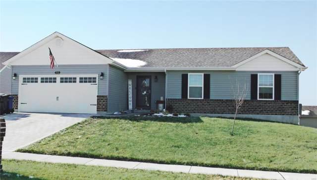 419 Honeysuckle Creek, Wentzville, MO 63385 (#19082090) :: Kelly Hager Group   TdD Premier Real Estate