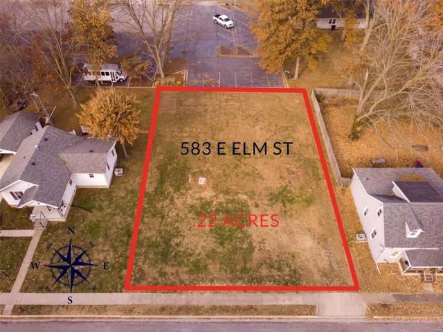 583 E Elm Street, NASHVILLE, IL 62263 (#19082273) :: Clarity Street Realty