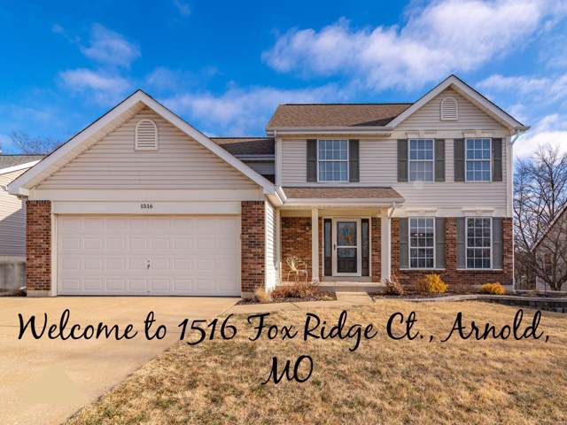 1516 Fox Ridge Court, Arnold, MO 63010 (#19083278) :: Peter Lu Team