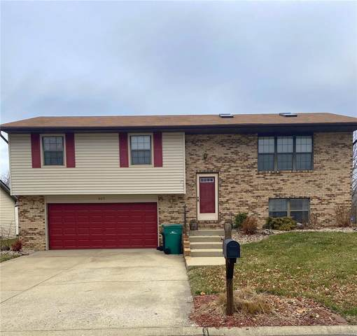 407 Ryan Drive, Fairview Heights, IL 62208 (#20010646) :: Clarity Street Realty