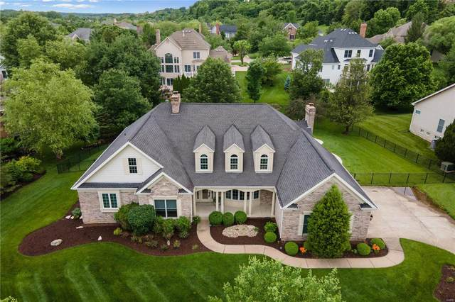 1067 Greystone Manor Parkway, Chesterfield, MO 63005 (#20029529) :: Parson Realty Group