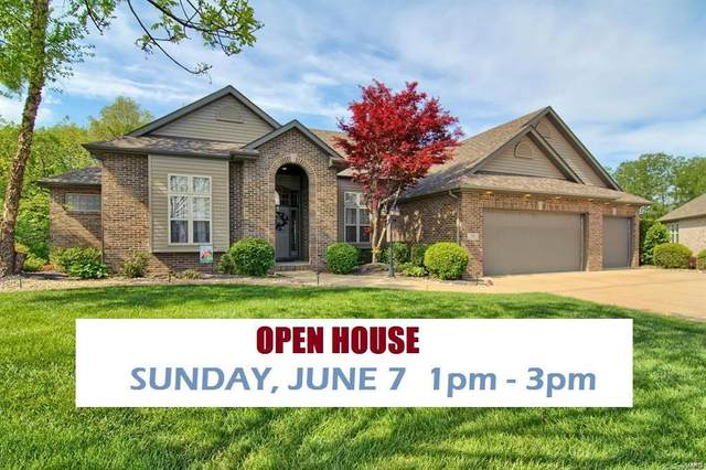 18 Ashford Oaks Court, Maryville, IL 62062 (#20030004) :: Tarrant & Harman Real Estate and Auction Co.