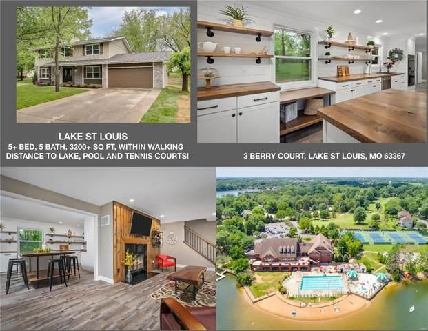 3 Berry Court, Lake St Louis, MO 63367 (#20031809) :: Sue Martin Team