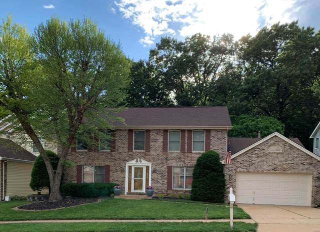 1433 Carriage Bridge, Ballwin, MO 63021 (#20036259) :: St. Louis Finest Homes Realty Group