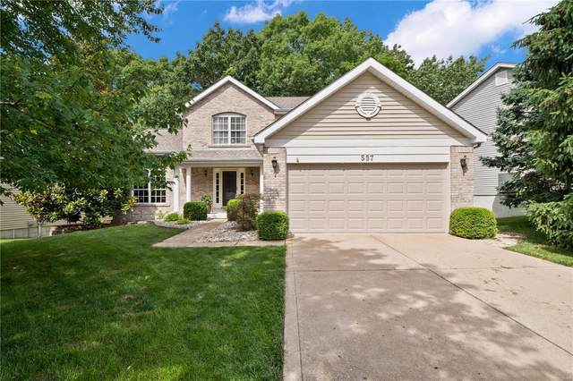 557 Wetherby Terrace, Ballwin, MO 63021 (#20038438) :: The Becky O'Neill Power Home Selling Team