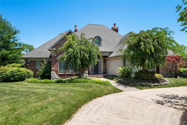 5748 Lake Briar Drive, Millstadt, IL 62260 (#20039806) :: The Becky O'Neill Power Home Selling Team