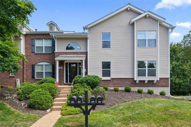 618 Pine Ridge Trails #104, Ballwin, MO 63021 (#20041728) :: The Becky O'Neill Power Home Selling Team