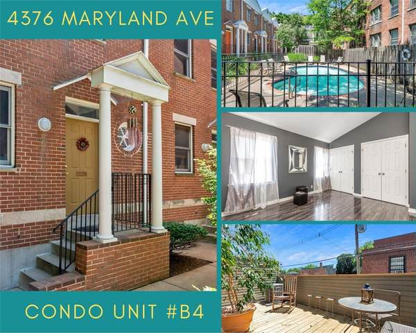 4376 Maryland Avenue B4, St Louis, MO 63108 (#20042565) :: PalmerHouse Properties LLC