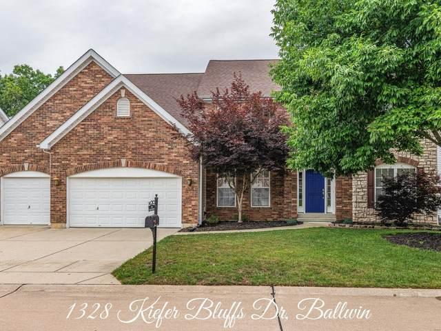 1328 Kiefer Bluffs Drive, Ballwin, MO 63021 (#20044530) :: The Becky O'Neill Power Home Selling Team