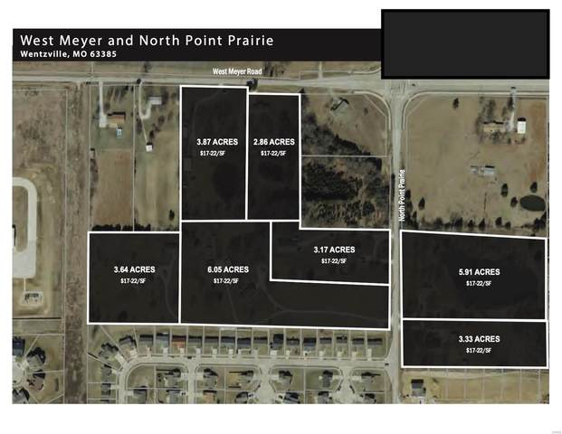 0 West Meyer & Pointe Prairie Road, Wentzville, MO 63385 (#20055642) :: Kelly Hager Group | TdD Premier Real Estate