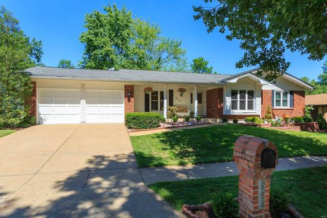 834 Guenevere Drive, Ballwin, MO 63011 (#20058053) :: Kelly Hager Group | TdD Premier Real Estate