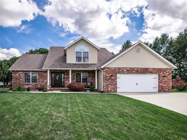 2700 Deerfield Drive, Maryville, IL 62062 (#20058586) :: The Becky O'Neill Power Home Selling Team