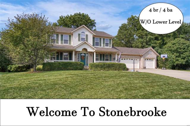 1605 Stonebrooke Drive, Edwardsville, IL 62025 (#20064904) :: Peter Lu Team