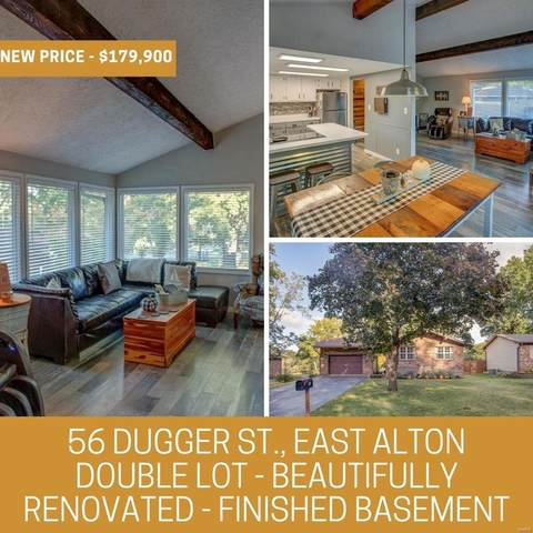 56 Dugger, East Alton, IL 62024 (#20071962) :: Tarrant & Harman Real Estate and Auction Co.