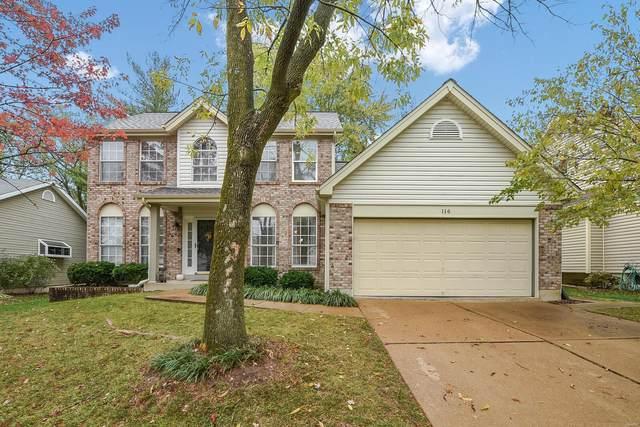 116 Oak Park Village Drive, Grover, MO 63040 (#20075368) :: PalmerHouse Properties LLC