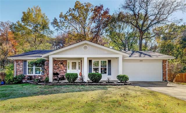 258 Oak Pass Court, Ballwin, MO 63011 (#20077271) :: PalmerHouse Properties LLC