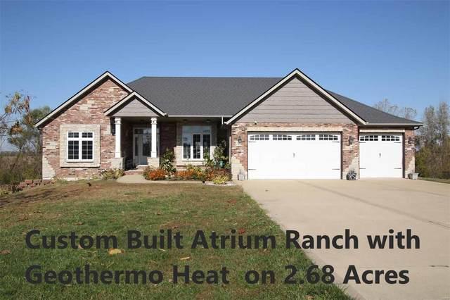 457 Kora Lane, Saint Jacob, IL 62281 (#20077326) :: Parson Realty Group