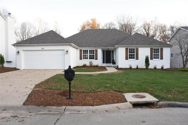 308 Cambridge Drive, Glen Carbon, IL 62034 (#20083907) :: Parson Realty Group