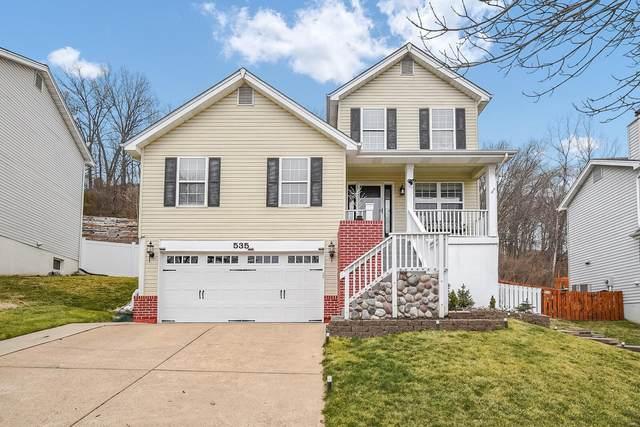 535 Elm Crossing Court, Ballwin, MO 63021 (#21001334) :: PalmerHouse Properties LLC
