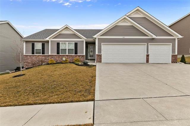 831 Liberty Creek Drive, Wentzville, MO 63385 (#21002609) :: PalmerHouse Properties LLC