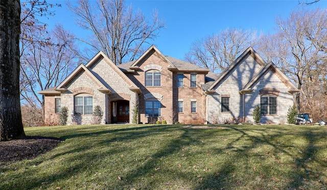 16 Ridge Crest Drive, Chesterfield, MO 63017 (#21003371) :: Parson Realty Group