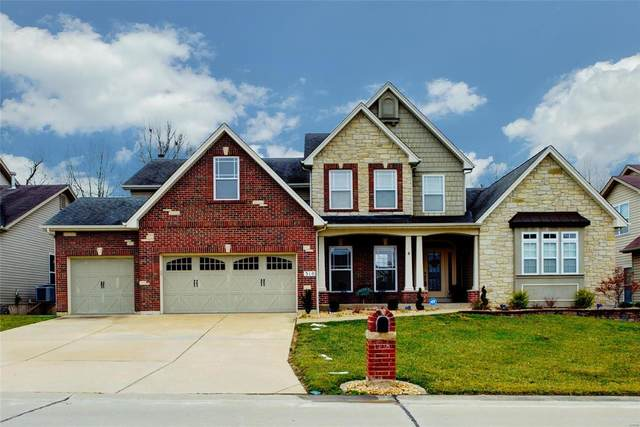 310 Magnolia Valley Drive, O'Fallon, MO 63366 (#21003634) :: Kelly Hager Group | TdD Premier Real Estate