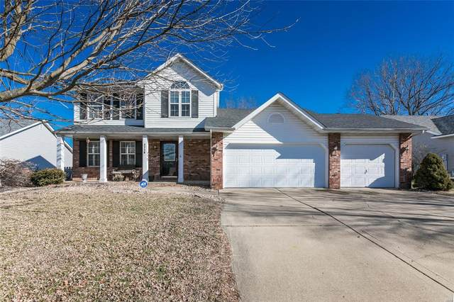 2716 Stone Valley Drive, Maryville, IL 62062 (#21006984) :: Tarrant & Harman Real Estate and Auction Co.