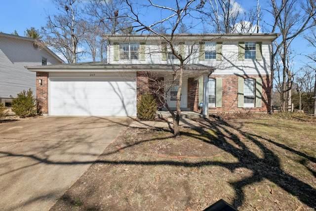 269 Oak Path Drive, Ballwin, MO 63011 (#21007158) :: Jeremy Schneider Real Estate