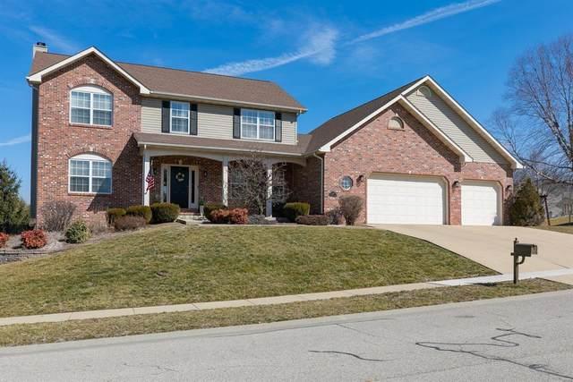 1144 Red Hawk Ridge Lane, O'Fallon, IL 62269 (#21011539) :: Fusion Realty, LLC