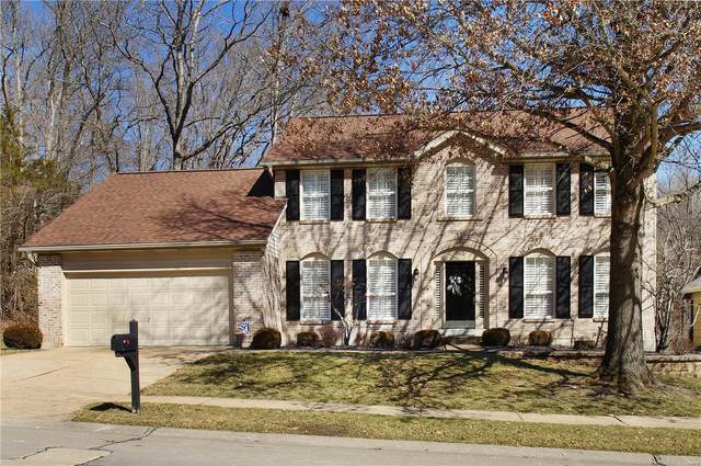 961 Westrun Drive, Ballwin, MO 63021 (#21012349) :: Matt Smith Real Estate Group