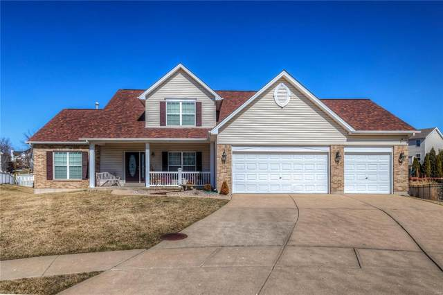 421 Ancestry Drive, Saint Peters, MO 63376 (#21013061) :: RE/MAX Vision
