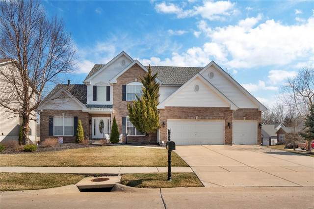 1008 Morgan Meadow Drive, Wentzville, MO 63385 (#21013648) :: Clarity Street Realty